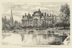 Kensington Palace, Where Queen Victoria Was Born, 24 May 1819