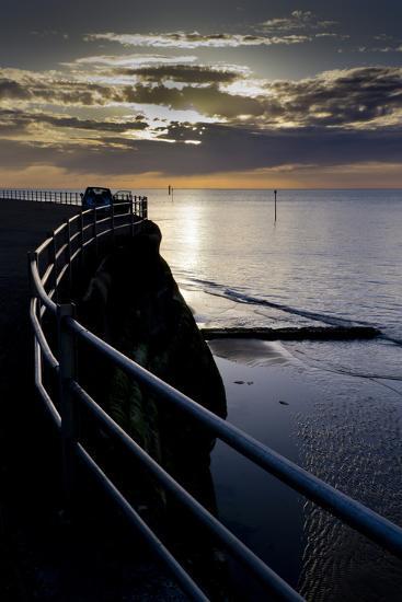 Kent coast-Charles Bowman-Photographic Print
