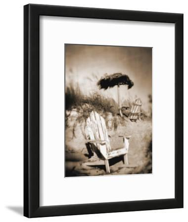 Blurred Image of Chair on Beach, Amelia Island, FL