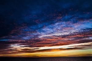 A Colorful Sunset Above Lake Ladoga by Kent Kobersteen