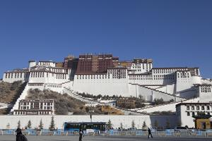 A View of the Potala Palace by Kent Kobersteen