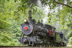 An Ex-Atlanta, Birmingham and Atlantic 1907 Baldwin 0-6-0 Steam Engine by Kent Kobersteen