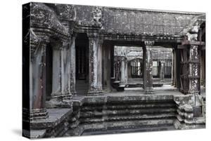 Architecture in the Temple Complex At Angkor Wat by Kent Kobersteen