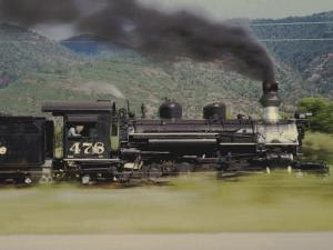 Ex-Denver and Rio Grande Western Narrow-Gauge 2-8-2 No.478, Speeding By by Kent Kobersteen