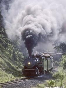 Ex-Southern Railway 2-8-2 No.4501 on a Steam Fan Trip by Kent Kobersteen