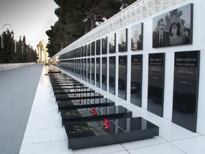 Martyrs' Lane, Memorial to Those Killed By Soviets, Black January 1990 by Kent Kobersteen