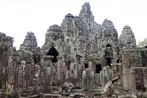 The Ancient Temple Complex At Angkor Thom by Kent Kobersteen