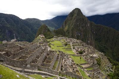 The Ruins At Machu Picchu by Kent Kobersteen