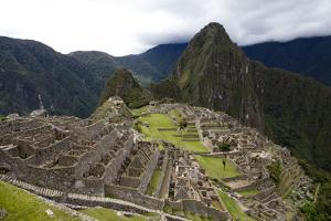 The Ruins At Machu Picchu by Kent Kobersteen