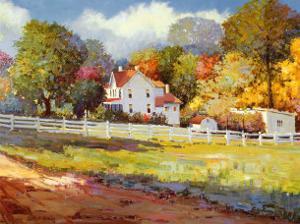 Early Autumn Farm by Kent Wallis