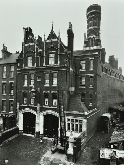 Kentish Town Fire Station, No 3A Fortress Walk, St Pancras, London, 1903--Photographic Print