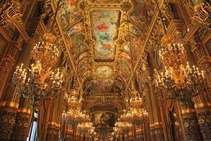 Opera Garnier in France Paris Tourist Destination by kentoh