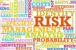 Risk Management Corporate Concept as a Abstract by kentoh