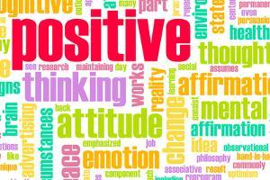Thinking Positive As An Attitude Abstract Concept by kentoh