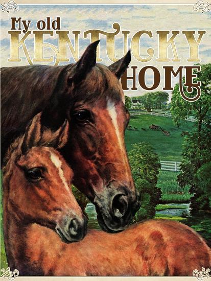 Kentucky Home--Giclee Print