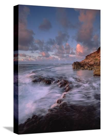 Keoneloa Bay, Kauai, Hawaii-Tim Fitzharris-Stretched Canvas Print
