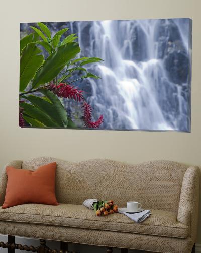 Kepirohi Waterfall, Pohnpei, Federated States of Micronesia-Michele Falzone-Loft Art