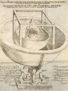 Kepler's Cosmological Model, Artwork