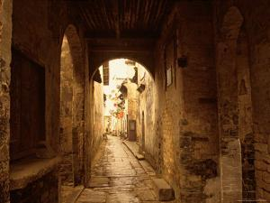 Ancient Alleys in Huizhou-styled Residential Area, China by Keren Su