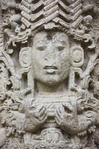 Ancient Architecture, Stele a in Copan Ruins, Maya Site of Copan, Honduras by Keren Su