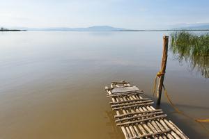 Bamboo raft on Lake Shalla, Abijatta-Shalla Lakes National Park, Ethiopia by Keren Su