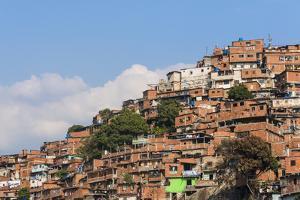 Barrios, Slums of Caracas on the Hillside, Caracas, Venezuela by Keren Su