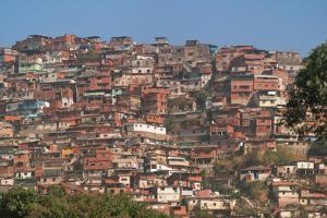 Barrios, Slums of Caracas on the Hillside, Caracas, Venezuela by Keren Su