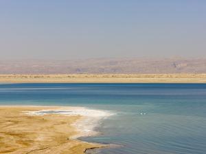 Beach Along the Dead Sea, Jordan by Keren Su