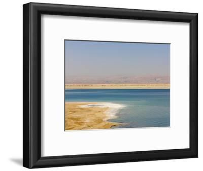 Beach Along the Dead Sea, Jordan