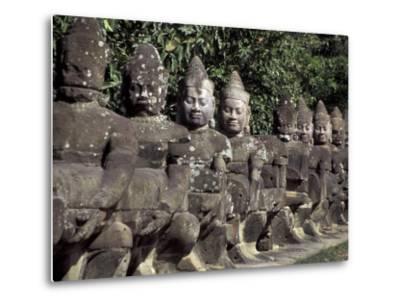 Buddha Statues at the Bayon, Angkor, Cambodia