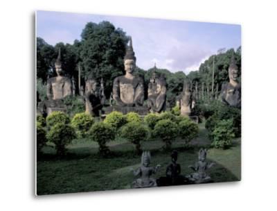 Buddhist Sculptures at Xieng Khuan Buddha Park, Vientiane, Laos
