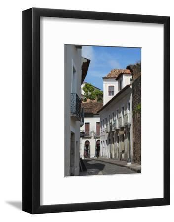 Buildings in Historic Center of Sao Luis, Maranhao State, Brazil