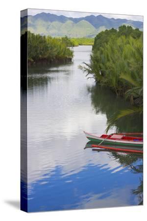 Canoe on the River, Bohol Island, Philippines