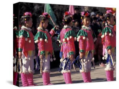 Children's Performance Celebrating Chinese New Year, Beijing, China