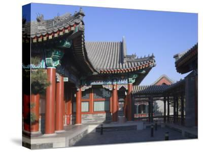 China, Beijing, Traditional Architecture in the Summer Palace