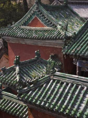 China, Hubei Province, Mt by Keren Su