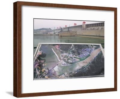 China, Yangtze River, Three Gorges Dam Construction Site