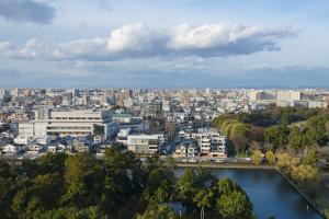 Cityscape of Nagoya, Aichi Prefecture, Japan by Keren Su