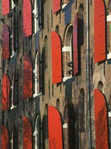 Colorful Buildings, Amsterdam, Netherlands by Keren Su