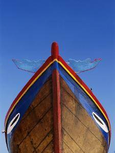 Decorated Boat Prow by Keren Su