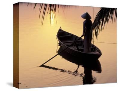 Evening View of Mekong River, Mekong Delta, Vietnam