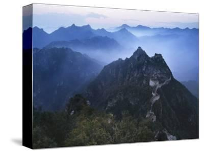 Great Wall in Early Morning Mist, China