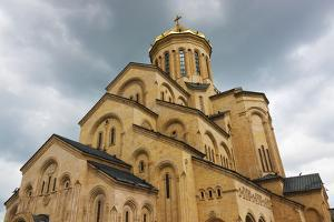 Holy Trinity Cathedral of Tbilisi, also known as Sameba, Tbilisi, Georgia by Keren Su