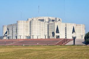 Jatiya Sangsad Bhaban (National Parliament House) designed by Louis Kahn, Dhaka, Bangladesh by Keren Su