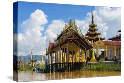 Jetty on Inle Lake, Shan State, Myanmar