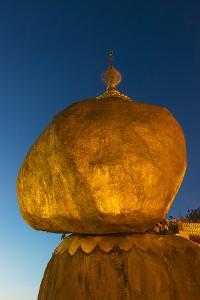 Kyaiktiyo Pagoda, Gold Rock, Mon State, Myanmar by Keren Su