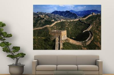 Landscape of Great Wall, Jinshanling, China