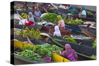 Lok Baintan Floating Market, Banjarmasin, Kalimantan, Indonesia