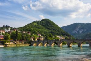 Mehmed Pasha Sokolovic Bridge on the Drina River (UNESCO World Heritage Site). Visegrad, Bosnia. by Keren Su