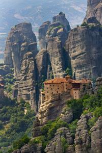 Monastery of Roussanou, Meteora, Greece (UNESCO World Heritage Site) by Keren Su